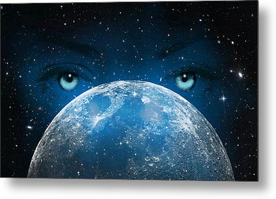 Hypnotic Metal Print by Swank Photography