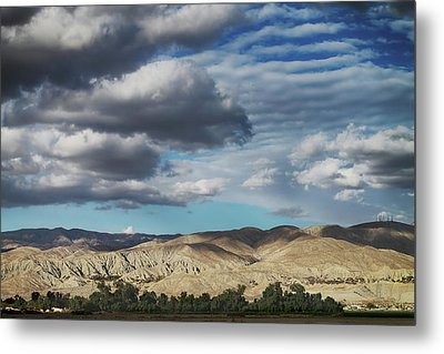 I Almost Touched The Clouds Metal Print
