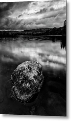 Metal Print featuring the photograph I Am A Rock by Mike Lang