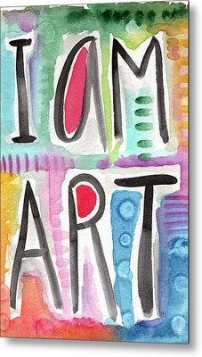 I Am Art Metal Print by Linda Woods