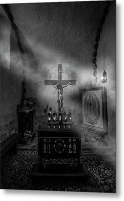 Metal Print featuring the photograph I Am The Light Of The World by David Morefield