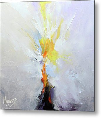 I Am The Resurrection Metal Print by Mike Moyers