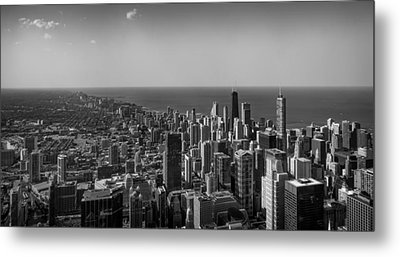 Metal Print featuring the photograph I Can See For Miles And Miles by Howard Salmon