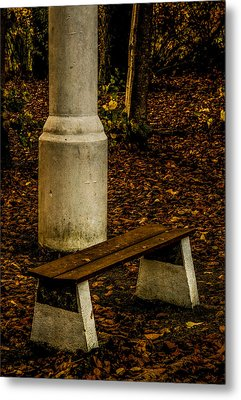 Metal Print featuring the photograph I Could Wait by Odd Jeppesen
