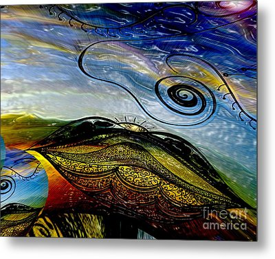 I Dream The Dawn Metal Print