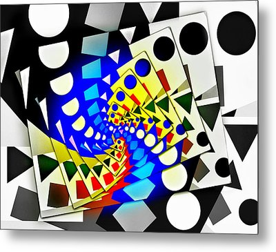 I Fell Way Too Deep Metal Print