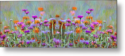 I Got To Get Back To The Garden Metal Print by Bill Cannon