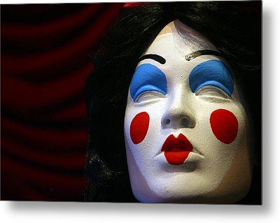 I Have Forgotten What A Kiss Feels Like Metal Print by Jez C Self