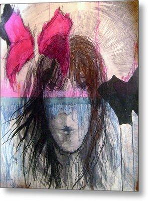 I Have In Head Confusion  Metal Print by Wojtek Kowalski