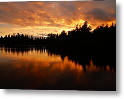 I Have Seen Stormy Days That I Thought Would Never End Metal Print by Larry Ricker