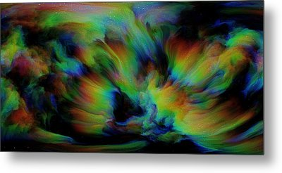 Show Sum Spinal Nebula Metal Print by Betsy Knapp