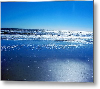 I Love You Metal Print by Brittany H