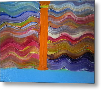 I On A Normal Day Metal Print by Cindy  Riley
