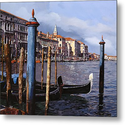 I Pali Blu Metal Print by Guido Borelli