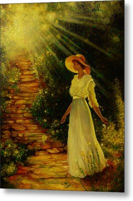 I See The Light Metal Print by Emery Franklin