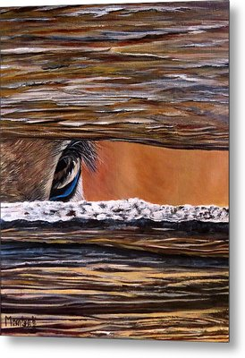 I See You Metal Print by Marilyn McNish