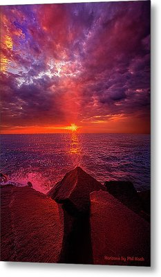 Metal Print featuring the photograph I Still Believe In What Could Be by Phil Koch