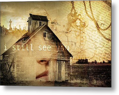I Still See You In My Dreams Metal Print by Design Turnpike