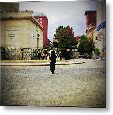 Metal Print featuring the photograph I Walk Alone by Brian Wallace