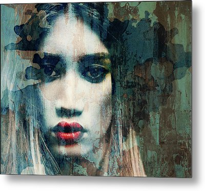 Metal Print featuring the mixed media I Want To Know What Love Is  by Paul Lovering