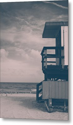 Metal Print featuring the photograph I Was Checkin' On The Surfin' Scene by Yvette Van Teeffelen