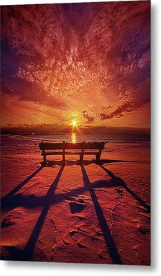 Metal Print featuring the photograph I Will Always Be With You by Phil Koch