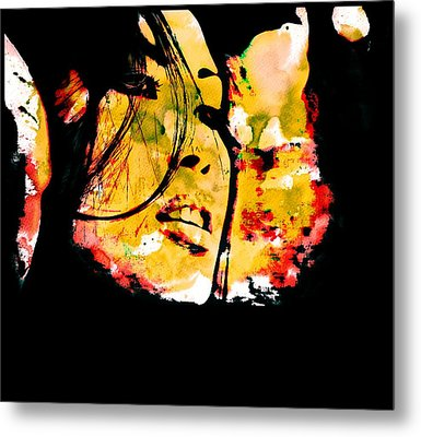 Inexorably, Time Moves Metal Print