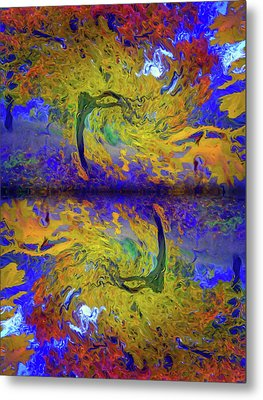I Will Dance With You In This Storm Metal Print by Tara Turner