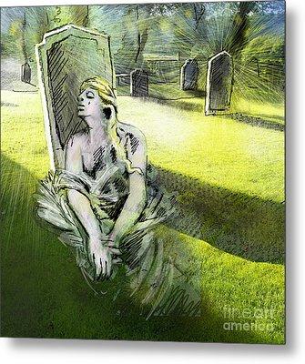 I Wish You Were Here Metal Print by Miki De Goodaboom