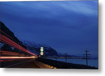 Metal Print featuring the photograph I84 by Cat Connor