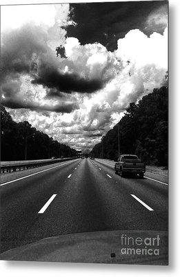 I95 Clouds Metal Print by WaLdEmAr BoRrErO