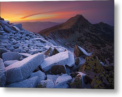 Ice And Fire Metal Print by Szabo Zsolt Andras