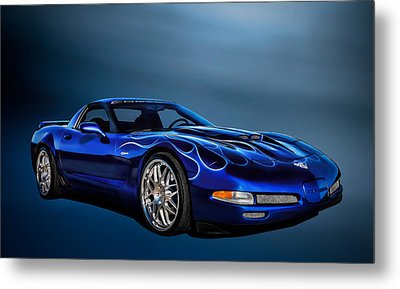 Ice Blue C5 Metal Print by Douglas Pittman