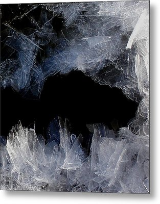 Ice Cave Metal Print by Marilynne Bull