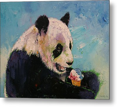 Ice Cream Metal Print by Michael Creese