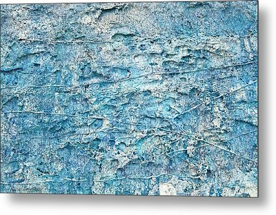 Metal Print featuring the painting Ice Melt  # 22617 by Robert Anderson