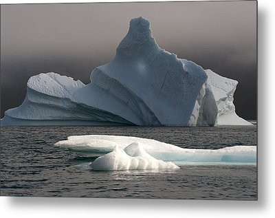 Ice Pinacle Metal Print by Elisabeth Van Eyken