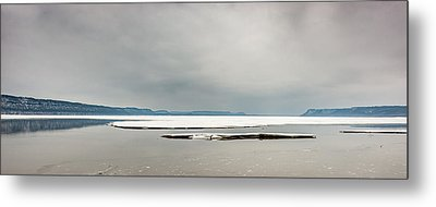 Ice Sheet Metal Print