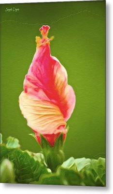 Icea Cream Flower - Pa Metal Print