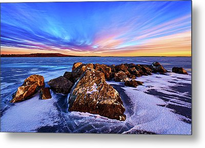 Icebound 2 Metal Print by ABeautifulSky Photography
