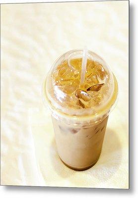 Iced Coffee 1 Metal Print