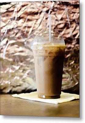 Iced Coffee 2 Metal Print