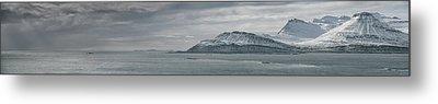Iceland East Coast Panorama Metal Print by Andy Astbury