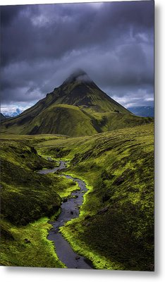 Icelandic Highlands Metal Print by Tor-Ivar Naess