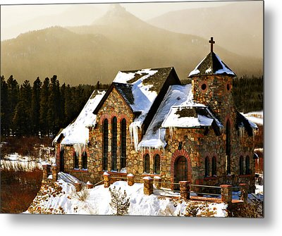 Icicles Metal Print by Marilyn Hunt