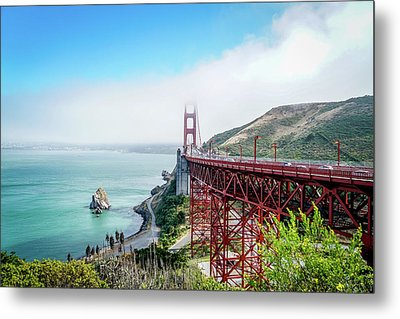Iconic Bridge Metal Print