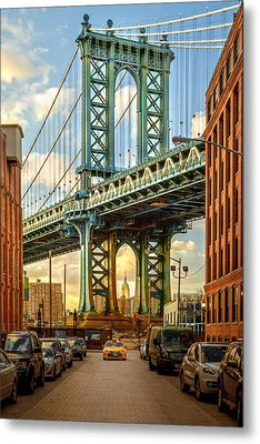 Iconic Manhattan Metal Print by Az Jackson