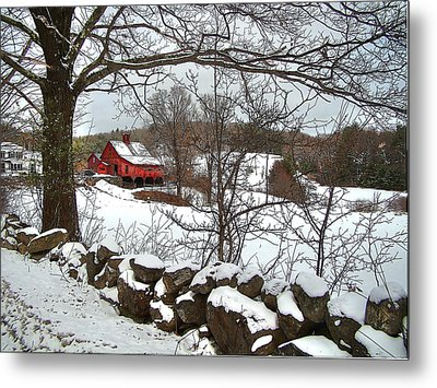Iconic New Hampshire Metal Print by Betsy Zimmerli