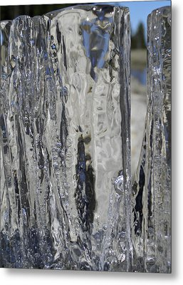 Metal Print featuring the photograph Icy Beach View 4 by Sami Tiainen