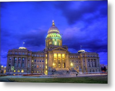 Idaho State Capital Metal Print